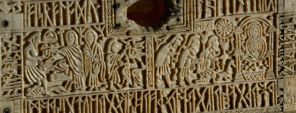 Teaching History with 100 Objects - An Anglo-Saxon carved box