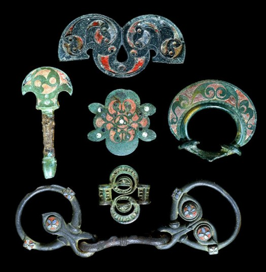 teaching history with 100 objects iron age horse trappings