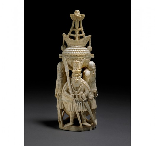 Teaching History with 100 Objects - Ivory salt cellar from Benin