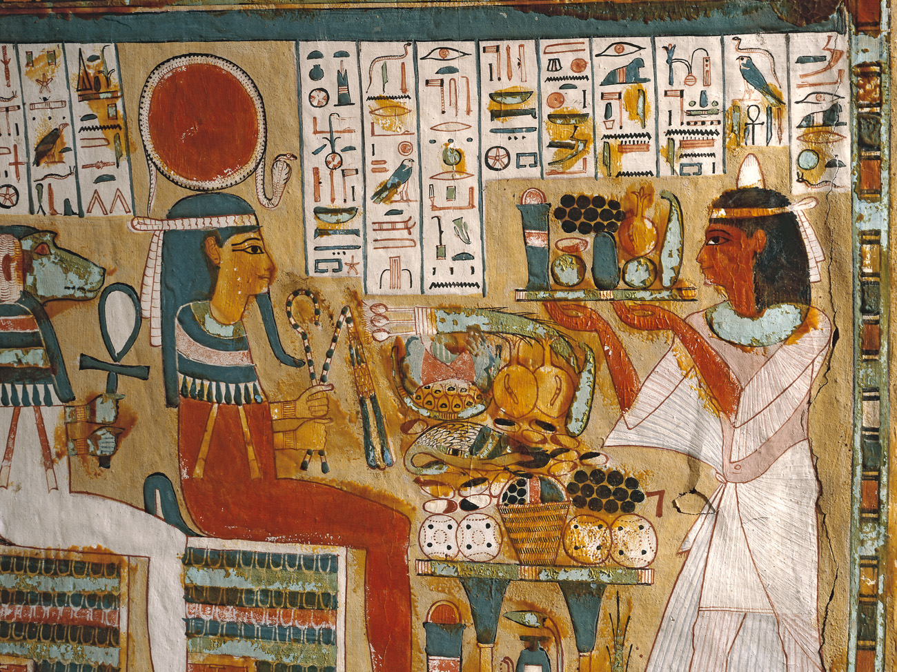 Ancient egyptian food the image kid has it for Ancient egyptian cuisine
