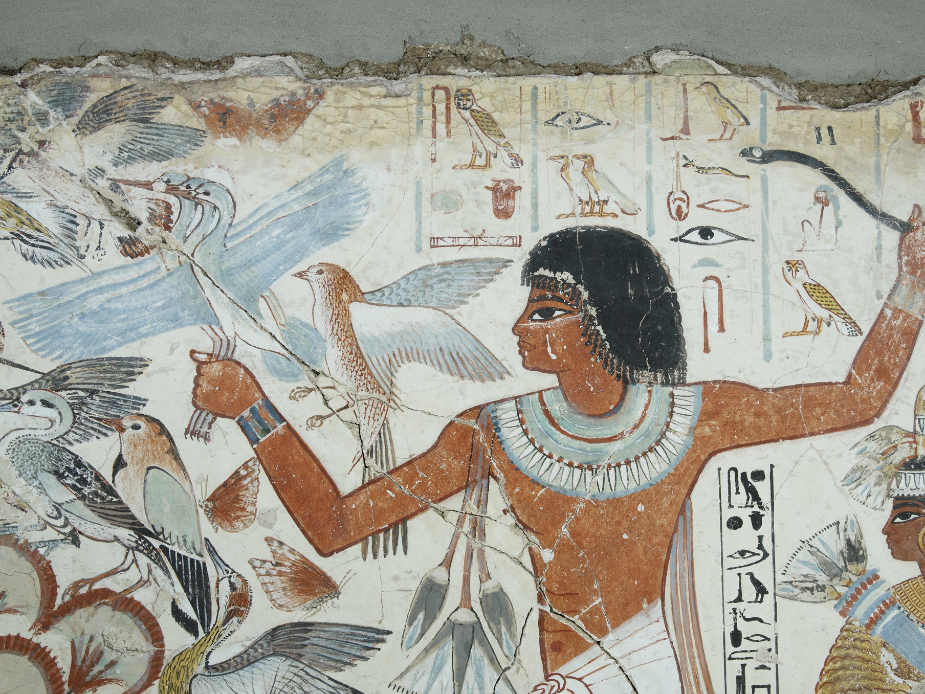Teaching history with 100 objects seals from the indus for Egyptian mural paintings